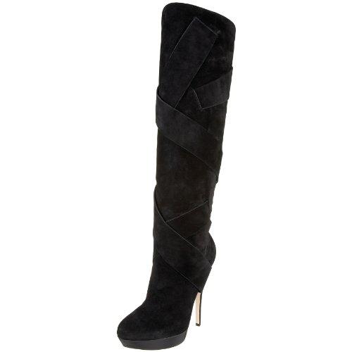 e0d27c0f96b Best Price Steve Madden Women's A-Jolene Knee-High Boot,Black Suede ...