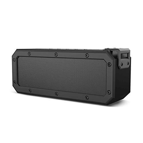 HIOD Bocina Bluetooth 40W de Potencia Al Aire Libre Impermeable Portátil Alcance de 33 pies Altavoz Inalámbrico Subwoofer 15h Tiempo de Juego