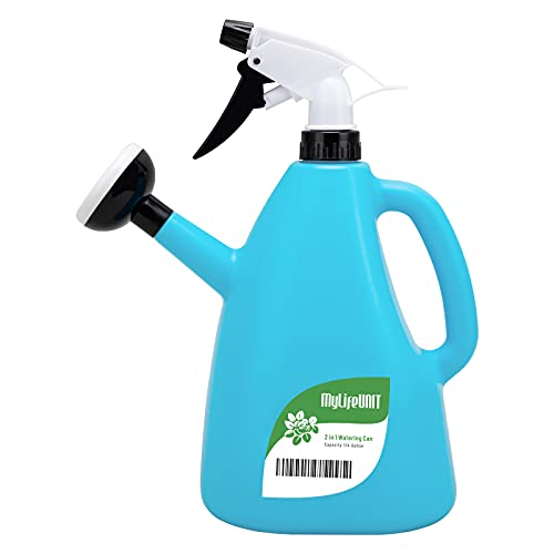 MyLifeUNIT 2 in 1 Watering Can with Sprayer