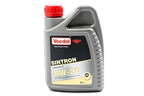 Sintron Veedol Longlife 3 5W30 1ltr. 04901T00301 VW504.00 VW507.00