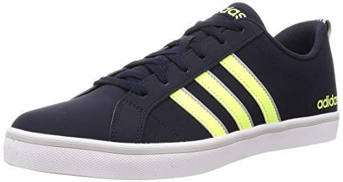 adidas Herren VS Pace Sneaker, Legend Ink/Hi-Res Yellow/Grey, 43 1/3 EU