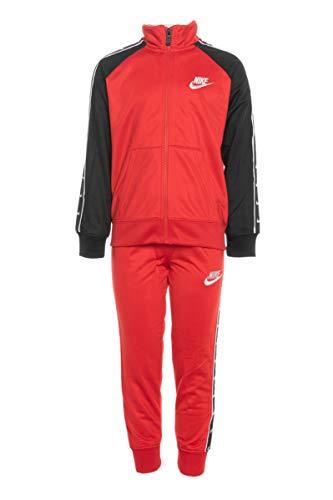 Nike Swoosh Tape 86G343-U10 - Chándal para niño, Color Rojo