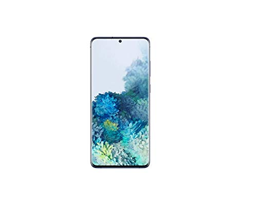 Samsung Galaxy S20+ - Smartphone 6.7' Dynamic AMOLED (8GB RAM, 128GB ROM, cuádruple cámara Trasera 64MP, Octa-Core Exynos 990, 4500mAh batería, Carga Ultra rápida), Azul [Versión española]