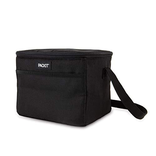 Packit Kühlbare Lunchtasche, Schwarz, Einheitsgröße