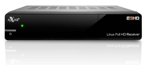 Axas E3HD Linux Full HD Satellitenreceiver (DVB-S2, HDMI, 1080p, 2X USB 2.0) schwarz