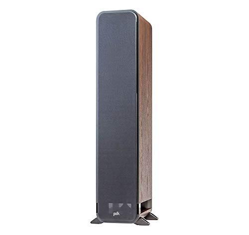 Polk Audio Signature Series S55 American Hi-Fi Home Theater Medium Tower Speaker, Single (Classic Brown Walnut)