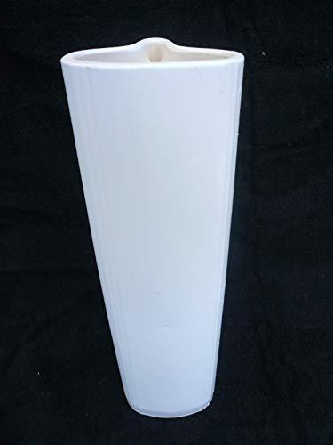 Luftbefeuchter/Hängeverdunster für Rippenheizkörper aus Keramik Dekor weiß lasiert