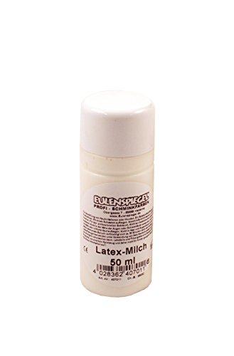 Eulenspiegel Profi-Schminkfarben Latex -Milch, 1er Pack (1 x 50 ml)