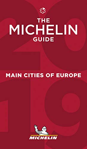 Price comparison product image Main cities of Europe - The MICHELIN Guide 2019: The Guide Michelin (Michelin Hotel & Restaurant Guides)