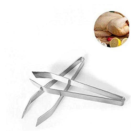 1pc Haarentfernung Pinzette Schwein Haar Zange Edelstahl Huhn Haar Removal Tool Haarentferner Zangen Küchenhelfer