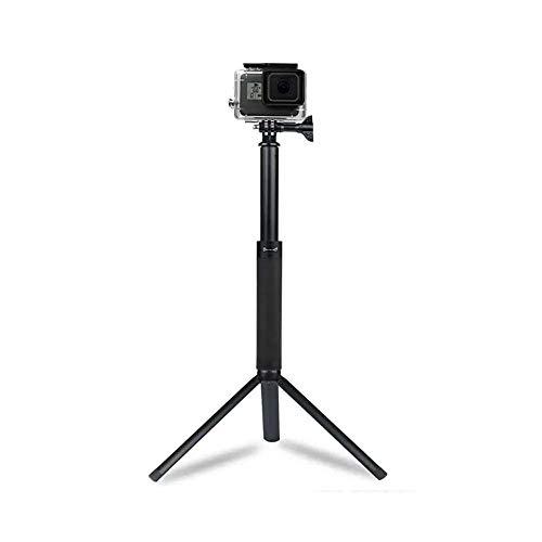Ouuager-Home Selfie Stick Uitschuifbare Selfie Stick Monopod voor GoPro Hero DJI OSMO Action Camera Smartphone Statief Selfie Stick Lichtgewicht