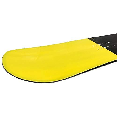 XGEEK - Set snowboard North South Four Wide Snowboard + Cambered per principianti ed esperti, 151 155 159 cm