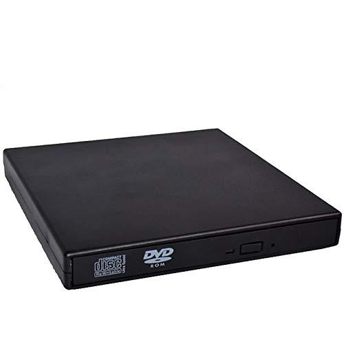XuBa - Grabador de DVD Externo y CD para Ordenador portátil Win-dows 98/8/10 (USB)