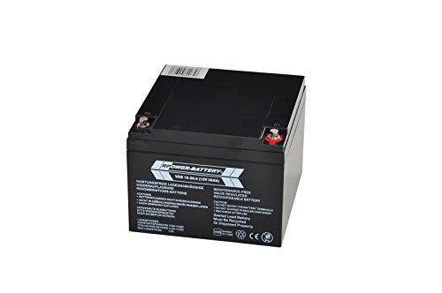 12v 26ah rpower vds batterie
