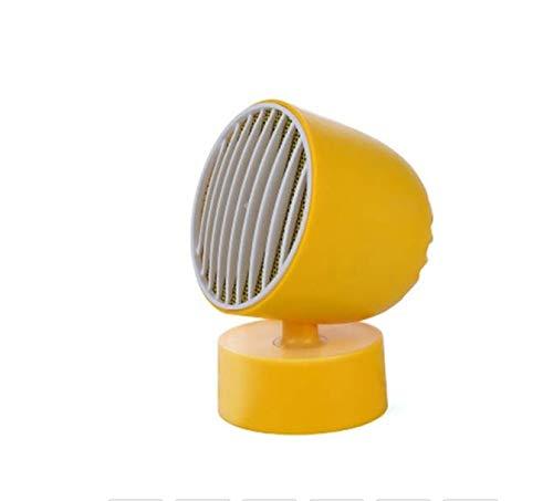 Mini calentador de ventilador eléctrico USB portátil. Calentador de protección contra sobrecalentamiento. Pequeño calentador de ahorro de energía para la oficina en casa