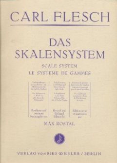 DAS SKALENSYSTEM - arrangiert für Violine [Noten/Sheetmusic] Komponist: FLESCH CARL - VL