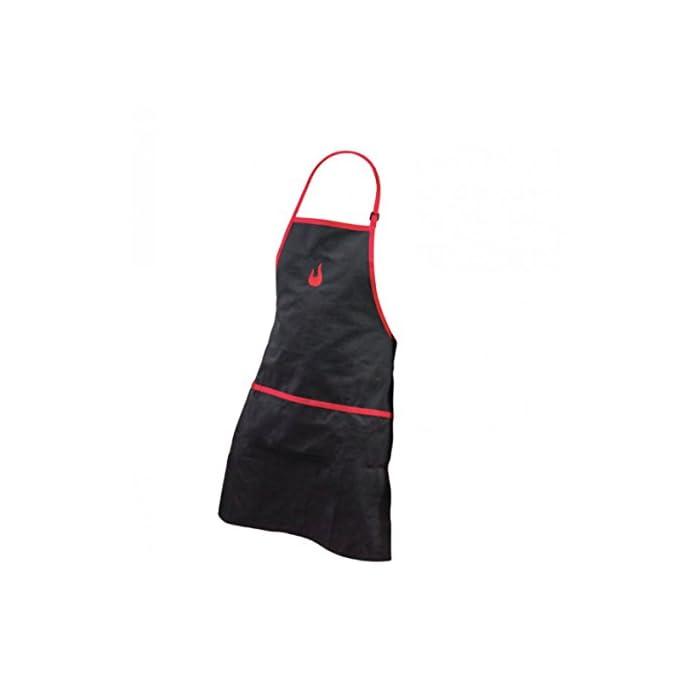 Char Broil 140 517 Grillschrze Mit Taschen Schwarz Und Rot