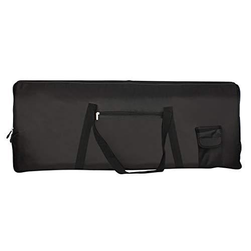 Bolsa de teclado eléctrico portátil 76 teclas Piano teclado caso eléctrico acolchado...