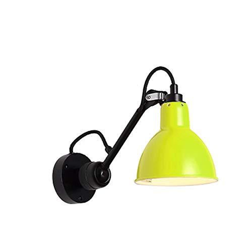 Aplique de pared Lámpara de pared Enchufe en la lámpara de los votos de pared, lámpara de pared de brazo oscilante con interruptor de encendido / apagado Montado de pared Lámparas de lectura de pared