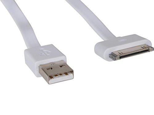 Sandberg USB 30pin Cable Flat 0.15m - Cable USB (0,15 m, USB