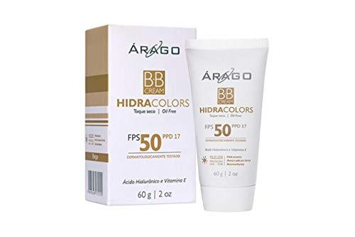 Bb Cream Hidracolor Fps 50 Bege 60G, Árago Dermocosméticos, Bege