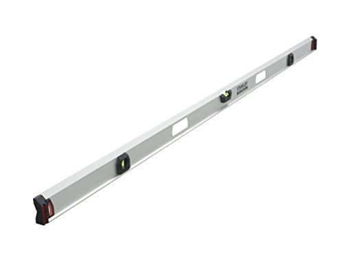 Stanley FatMax I-Profil Wasserwaage II (200 cm Länge, magnetisch, 2 vertikale Libellen/1 horizontale Libelle) 1-43-558