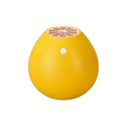 Haiying Luchtbevochtiger Aromatherapy Essential Oil Diffuser USB persoonlijke luchtbevochtiger met LED-licht in de nacht, wisselt en zonder water Auto Shut-Diffuser voor Bed-Room