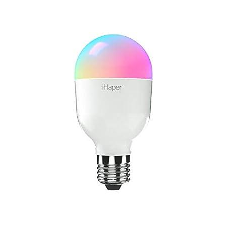 【本日最終日】iHaper スマートLED電球 調光可能 Apple HomeKit/Alexa/Google Home対応 649円!2000円以上 or プライム会員は送料無料!