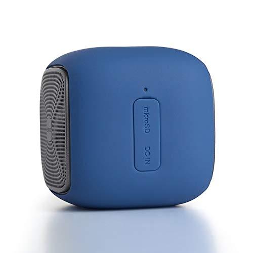 qiyanMini Altavoces inalámbricos Bluetooth Super Bass Altavoces con Funciones de Tarjeta Impermeable + SD para teléfonos Inteligentes en Altavoces portátiles c