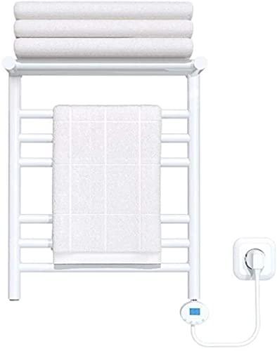 Radiador de toallas, tendedero para baño, porta toallas eléctricos montados en la...