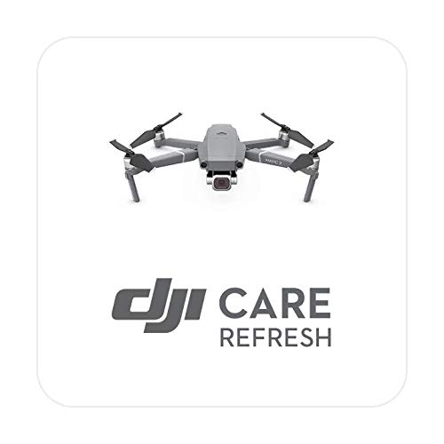DJI Mavic 2 - Care Refresh, VIP Serviceplan Mavic 2 Pro/Zoom, bis zu zwei Ersatzgeräte innerhalb von 12 Monaten, Abdeckung von Sturz- und Wasserschäden, Aktiviert innerhalb von 48 Stunden
