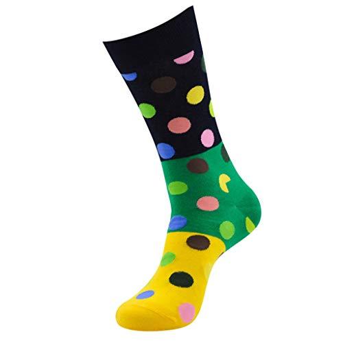 Somerl socken damen strümpfe Weihnachten 3D Animal Print Socks Stiefel Sneakers kurze Socks(Yellow,Free)