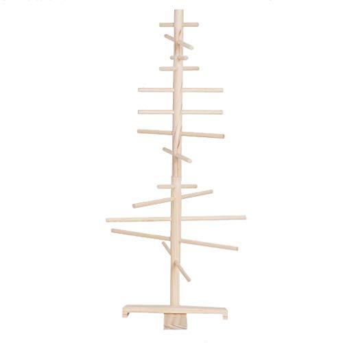 Holzbaum – Dekobaum – Weihnachtsbaum – Lichterbaum – Geschenkbaum – Wunschbaum – Maibaum – Osterbaum – Lichterbaum – Hochzeitsbaum – Echtholz Natur – 120cm hoch – 70cm Durchmesser – T1200-120-70