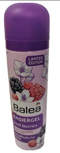Balea Rasiergel Iced Berries LIMITED EDITION für empfindliche Haut