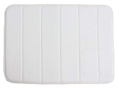 VANRA Bath Mat With Anti Slip Memory Foam