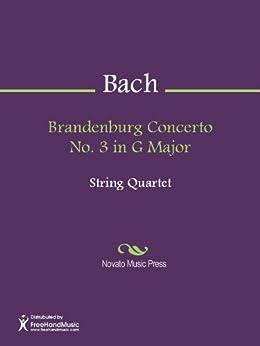 Brandenburg Concerto No. 3 in G Major - Score (English Edition)