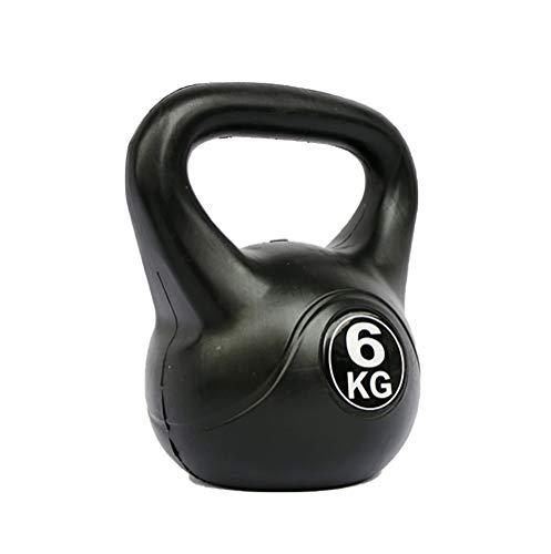 Pesa Rusa Fitness Kettlebell Pesas Levantamiento Bola Entrenamiento Muscular Hombres Y Mujeres Inicio Gimnasio Fuerza Ejercicio Yoga Pilates Deportes ,6KG