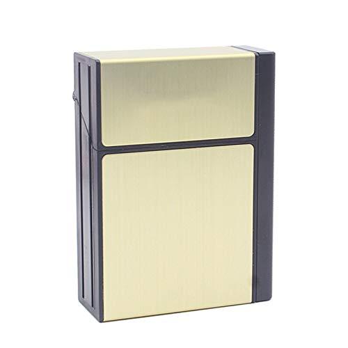 HEKQ Caja De Cigarrillos con Encendedor Eléctrico USB Separable Recargable para Cigarrillos...