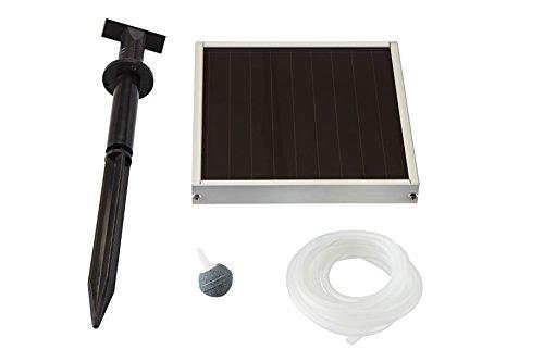Pontec 46785 Solarteichbelüfter Pondo-Solar Air 150 Plus | Solarpumpe | Belüftungsset für Teich | System | Solarstrom