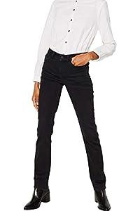 ESPRIT Damen 119EE1B002 Straight Jeans, Schwarz (Black Dark Wash 911), W32/L32 (Herstellergröße: 32/32)