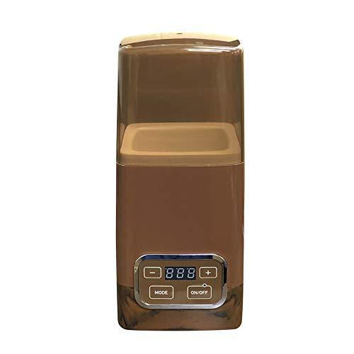 dadaz ヨーグルトメーカー 容器 1L ブラウン 低温調理 発酵フードメーカー 発酵食品 R-1