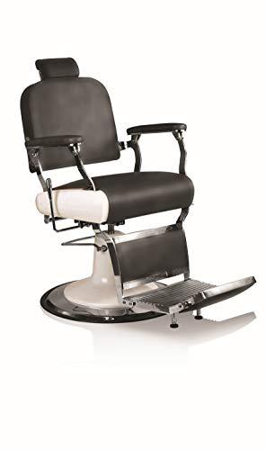 Fauteuil barbier avec repose-pieds à pompe hydraulique Hair Jaguar