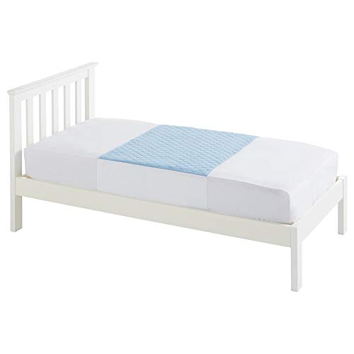 NRS Healthcare M93525 - Protección absorbente para colchón Kylie, color azul