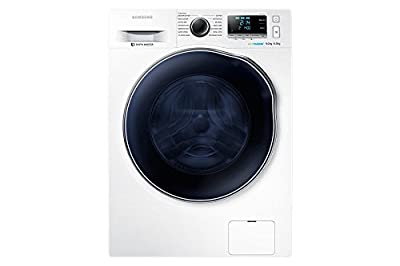 Samsung WD90J6410AW Freestanding Front Load A Class White Washing Machine with Dryer - Washing Machines with Dryer (Front load, Freestanding, White, LED, 6 kg, 1400 RPM)
