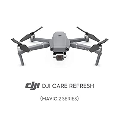 DJI Mavic 2 Series - Care Refresh Warranty (Valid for 12 Months), Offers Two Replacement Units Within A Year, Water Damage Coverage, Rapid Support, Drone Warranty, Mavic 2 Series Accessories