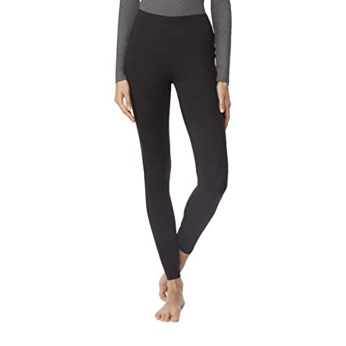 32 DEGREES Womens Heat Plus Baselayer Legging, Black, Medium
