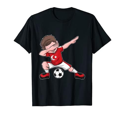 Fußball Türkei Trikot Jungen türkische Flagge T-Shirt