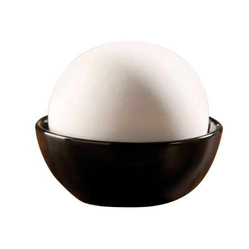 WENKO 52593100 Luftbefeuchter Rondo - großer Keramik-Verdunster, Keramik, 12 x 10 x 12 cm, Weiß