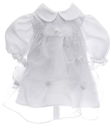 Ausverkauf Kleid Babykleid Taufkleid Festkleid Bolero Jacke Mädchen Baby Taufe Taufjacke Emilia 62