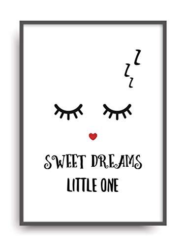 Kunstdruck SWEET DREAMS Poster Bild Plakat ungerahmt DIN A4